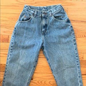 Vintage high waisted Lee Jeans
